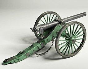 Civil War Cannon 3D