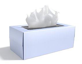 3D Generic Tissue Box