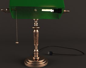 rusty desk lamp 3D