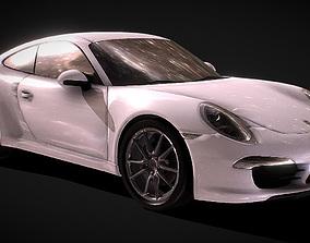 Porsche 991 3D Model realtime car