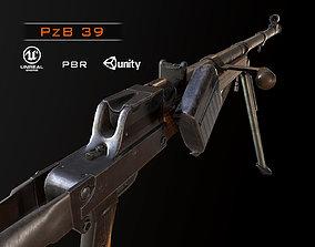 3D model PzB-39 German ww2 anti-tank rifle pbr