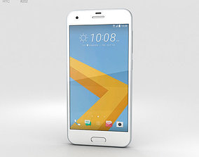 HTC One A9s Silver 3D model mobile