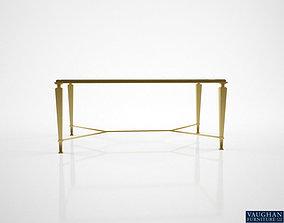 3D Vaughan Brockton Gilded coffee table