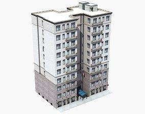 3D Luxury Apartment Building
