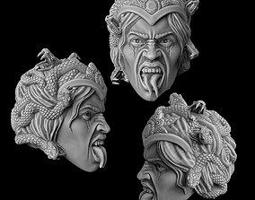 The Gorgons head 3D printable model