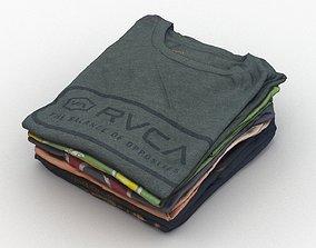 T-Shirts 004 3D model