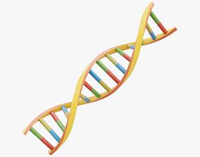 3D asset DNA Double Helix