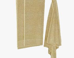 hanging towels 3D model