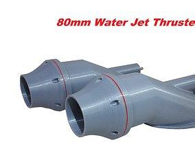 3D printable model WATER JET PROPULSION UNIT HAMILTON 2