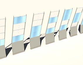 Noise Barrier Road Shield 3D