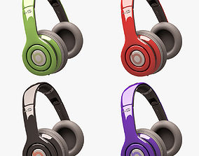 Beats Solo HD Headphone Set 3D asset