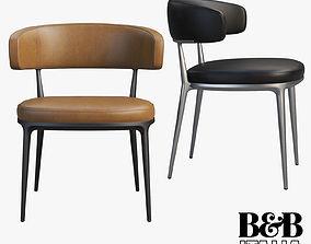 B and B Italia Maxalto Caratos chairs 3D