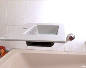 Washbasin 3D model sink