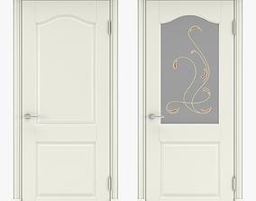 3D model Classic interior doors 07