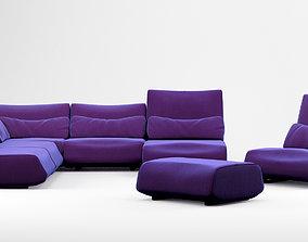 3D Prostoria Low Life sofa collection