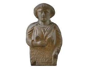 3D PRINTING - SYRIAN FUNERARY STELE OF A WOMAN FIGURINE