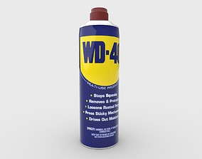3D model WD 40 Spray Can