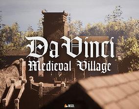 Da Vinci - Medieval Village - Blender and 3D