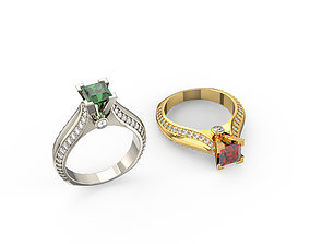 platinum ring 3d models download 3D print model