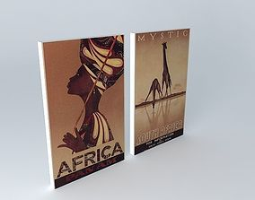 3D model The Mystic Africa Canvas