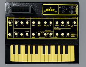 3D EDP WASP Vintage Synthesizer