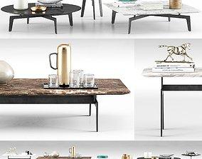 3D Poliform Tribeca Coffee Tables
