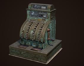 3D model Antique Cash Register National
