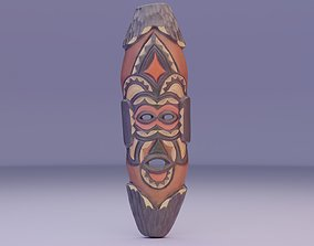 African Mask 07 3D asset