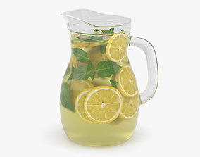 3D Lemonade Pitcher