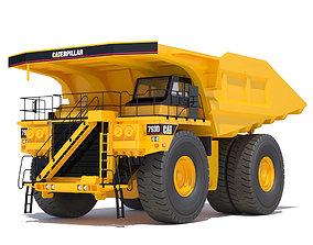 Rigid Dump Truck 3D
