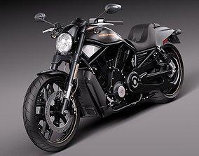 3D Harley-Davidson V-rod Night Rod Special 2013