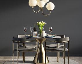 3D Dinning Set 06