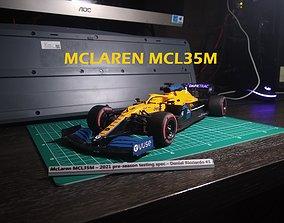 3D print model MCLAREN 2021 F1 CAR