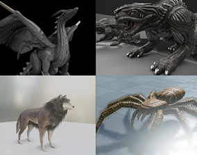 3D Game Ready Animals
