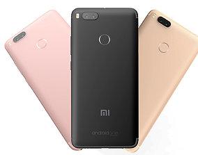 3D Xiaomi Mi A1 3 Color Pack