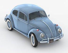 3D model Volkswagen Beetle Classic