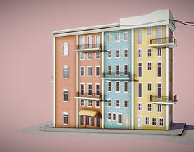 3D model Apartment Block - Portugal