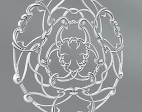 3D Carved rosettes 65