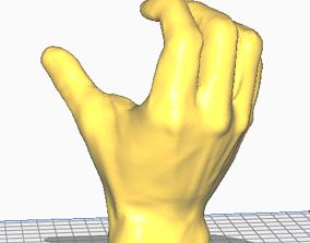 art Curtain Hand Holder 3D printable model