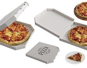 Pizza BLENDER 3D Model Cycles