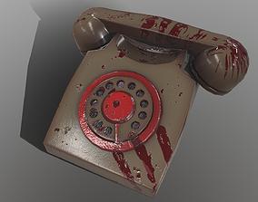 3D asset low-poly PBR Phone