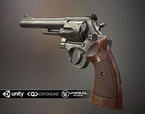 Smith and Wesson Model 29 game-ready