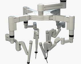 3D model Surgical Robot Arm