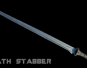 Death Stabber 3D model low-poly