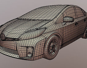 Toyota Prus 3D printable data diy