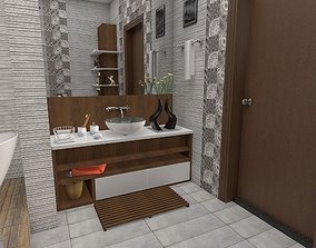 bathroom 3D printable model