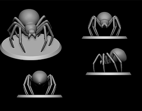 black widow 3D print model spider