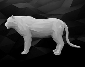 3D Printable Tiger Model
