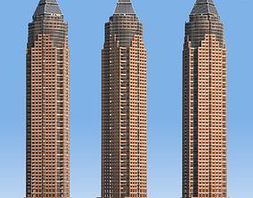 MesseTurm Skyscraper Detailed 3D model