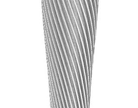 Beer Tap Handle - Contemporary Ribbon 3D print model